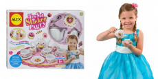 ALEX Toys Craft 13-Piece Tea Set Party + 100 Stickers Just $8.99!