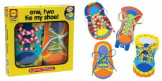 ALEX Toys Little Hands One Two Tie My Shoe Just $8.99! (Reg $17)
