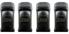 AXE 4-Pack of YOU Deodorant Sticks Only $2.00/Each!