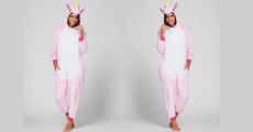 Adult Unicorn Onesie Costume Just $12.99 Shipped!