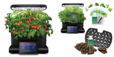 AeroGarden Harvest Touch + Herb Kit + Seed System Just $99.99 Shipped!