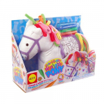 Cute! ALEX Toys Craft Color & Cuddle Pony Soft Toy Only $10.99!