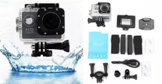 All PRO HD 1080P Action Camera + Waterproof Bundle ONLY $42.84!