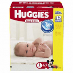 Amazon Moms! Get Huggies Diapers Only $0.08 Each After $3.00 Off Coupon And Subscription!