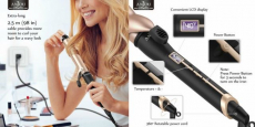 Anjou 1.25″ Ceramic Curling Iron ONLY $18.99!!!