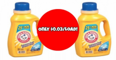 WOW! Arm & Hammer Laundry Detergents Just $0.03/Load!