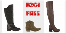 Buy 1 Get 2 Boots FREE at JCPenney's!