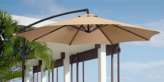 BCP 10′ Offset Hanging Patio Umbrella Just $48.99 Shipped! (Reg $180)