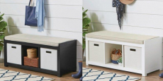 BHG 3-Cube Organizer Bench Just $49.00 Shipped! Reg $100!