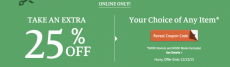 Barnes & Noble: 25% Off Any Item Online~Ends Today!