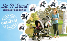Toys R Us and Babies R Us: Baby Trend Sit N Stand Ultra Stroller Just $99 (reg. $150)- Today ONLY!!!