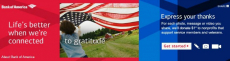 Share a Thanks and Bank of America Will Donate $1 to Military & Veteran Nonprofit Organizations