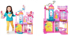 Back Again! Get This vBarbie Dreamtopia Rainbow Cove Castle For Only $24.99!