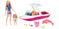 HOT! Barbie Dolphin Magic Ocean View Boat Set ONLY $27.99 Shipped!