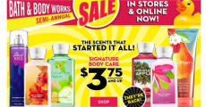 Hurry Over To Bath & Body Works For Some Great Deals!