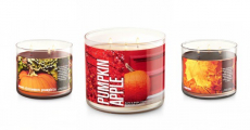 Bath & Body Works: 3-Wick Fall Candles As Low As $9.97/Each Shipped!