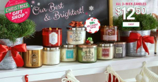Bath & Body Works: 3-Wick Candles Just $10.00/each + Free Shipping!