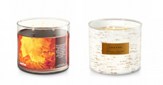 Bath & Body Works: 3-Wick Candles $10.25/Each + Free Shipping!