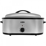 Save Space In The Oven! Get This Bella 18-Quart Stainless Steel Turkey Roaster Only $27.99! Normally $49.99!