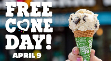 Ben & Jerry's Ice Cream Cone For Free