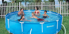 Bestway Steel Pro 12′ x 30″ Frame Pool ONLY $83.99 Shipped! (Reg $250)