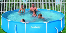 Bestway Steel Pro 12′ x 30″ Frame Pool Under $100 + Free Shipping! (Reg $250)