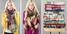 Sale Extended! One More Day To Get Blanket Scarves Only $12.95 Shipped!