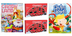 Games on Sale – Chutes & Ladders, Candy Land, and Checkers as low as $4.00!