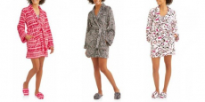 Sleepwear Robe & Slipper Sets Up To 75% Off!