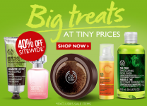 The Body Shop: 40% off Entire Purchase