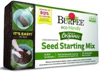 Burpee 8 qt Organic Coir Seed Starting Mix $2.98 (REG $6.99)