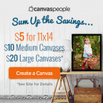 Get Custom Photo Canvases Only $5.00 At CanvasPeople!
