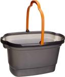 Casabella, 4-Gallon Bucket Graphite and Orange $8.99 (REG $17.94)