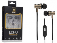 U.S. Army Echo Wired Earbuds With Mic $7.99 (REG $29.99)