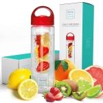 Water Bottles – 24 or 32 Ounce Fruit Infuser Bottle $16.95 (REG $28.95)