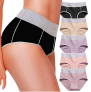Ladies Mid-High Waist Comfortable Hipster Briefs $23.99 (REG $51.99)
