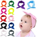 Baby Girl Headband, Fascigirl 12 PCS Dacron Hairband Knotted for Toddlers Child $13.99 (REG $25.99)
