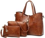 LIGHTNING DEAL!!! Satchel Purses and Handbags for Women Shoulder Tote Bags Wallets$22.39 (REG $27.99)