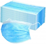 Mchoice 50 PCS Disposable Earloop Face Mask Filters Bacteria Breathable 3 PLY $8.86 (REG $46.99)