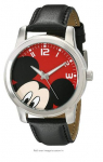 Disney Unisex W001842 Mickey Mouse Analog Display Analog Quartz Black Watch $15.12 (REG $49.99)