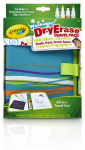 Crayola Washable Dry Erase Travel Pack, Whiteboard for Kids, Ages 4, 5, 6, 7 $8.48 (REG $16.75)