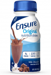 Ensure Original Nutrition Shake , Meal Replacement Shakes, Milk Chocolate, 8 fl oz,$26.34 (REG $51.96)