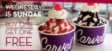 Carvel Ice Cream: Score Sundaes BOGO FREE!
