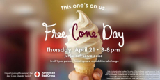 FREE Cone Day At Carvel Ice Cream!