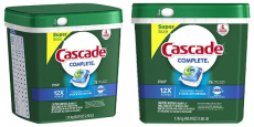 Cascade Complete ActionPacs Dishwasher Detergent 78-Pack Just $9.70 Shipped!