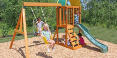 Cedar Summit Premium Play Wooden Swing Set Only $279.00 Shipped! (Reg $400)
