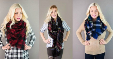 HOT!!! Blanket Scarves ONLY $12.95 Shipped!