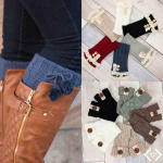 Look Great And Keep Warm! Boot Cuffs Only $8.95 With Free Shipping!