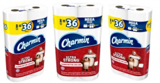 Charmin Ultra Strong Toilet Paper $0.77/Mega Roll + Free Shipping!