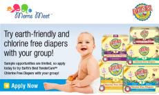Possible Free Earth's Best TenderCare Chlorine Free Diapers